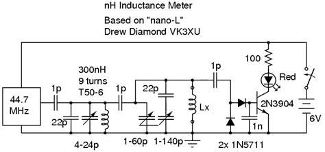 alan yates laboratory nano henry inductance meter