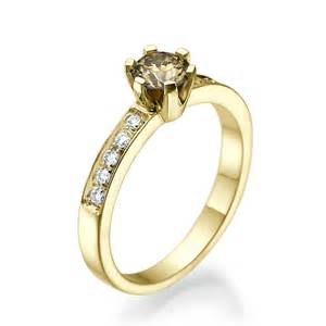 fancy engagement rings fancy brown engagement ring river diamonds