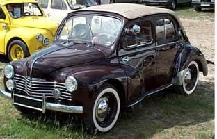 Les Industrielles Anciennes Occasion by Renault 4 Cv Decouvrable Voiture Routi 232 Re De 1948