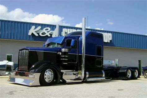 kenworth shop custom kenworth w900 trucks pinterest black