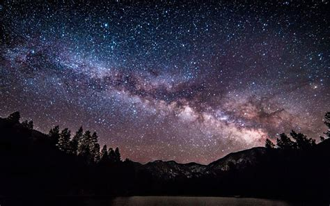 Milky Way Stars Over Pine Valley Utah Chrome Web Store