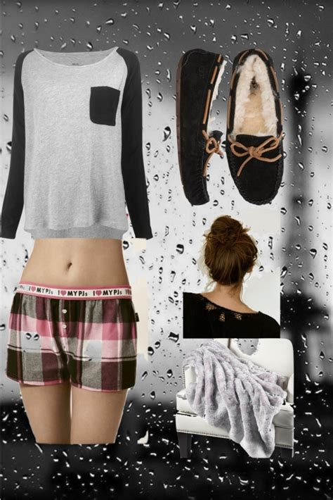 43 best images about Polyvore pjs on Pinterest | Sleep Cute pajamas and Lazy days
