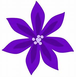 Free Clipart: Purple Lily   Flowers