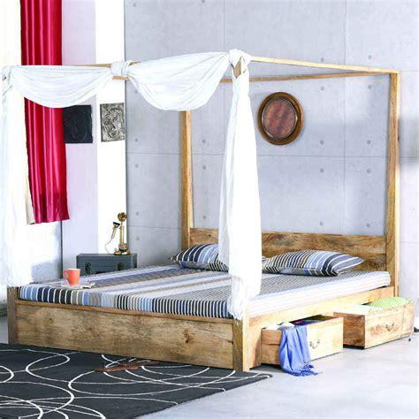letto baldacchino legno bianco letto baldacchino legno naturale letti coloniali