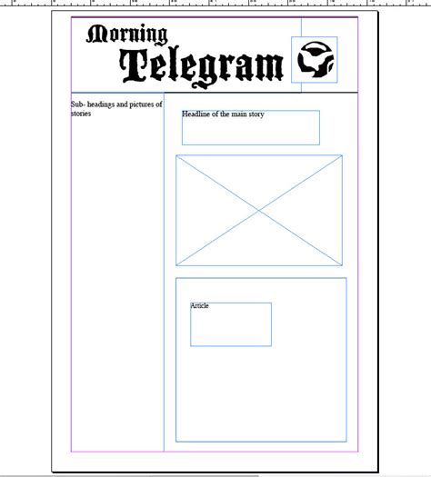 blank newspaper template for word blank newspaper template cyberuse