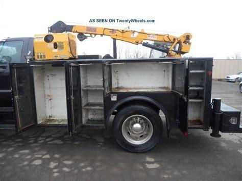 ford  mechanics service crane truck