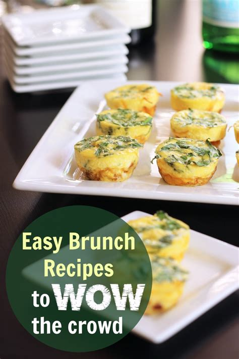 easy brunch recipes to wow your crowd good cheap eats
