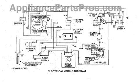 parts for maytag mdg6200aww wiring information parts appliancepartspros