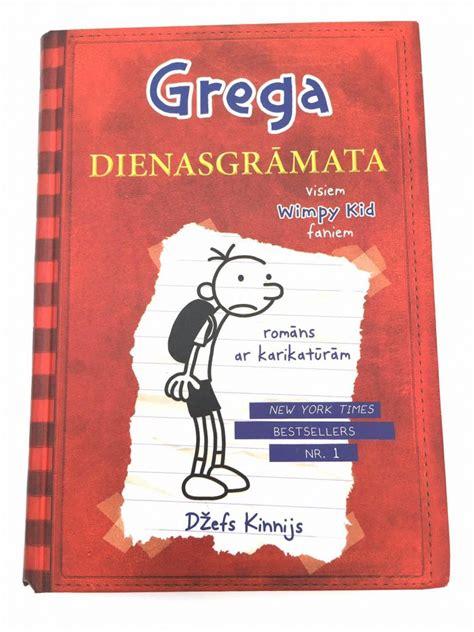 Grega dienasgrāmata. 1 Džefs Kinnijs, Jauniešiem, Bērniem/Jauniešiem, Lietotas Grāmatas iegādei ...