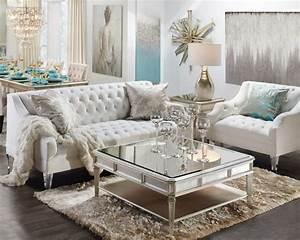 Glamorous, Comfortable, Fashion, Living, Room, Sofa