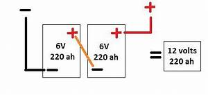 how to convert to 6 volt batteries for dry camping deep With wiring 4 6v batteries in series