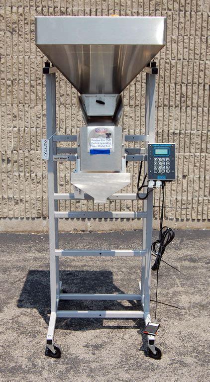 semiautomatic net weigher bulk  dribble filler model   linear scale