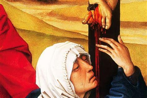 ai piedi della croce testo la vergine 171 icona 187 sabato santo
