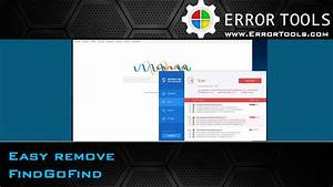 U00bb Findgofind Browser Hijacker Removal Guide
