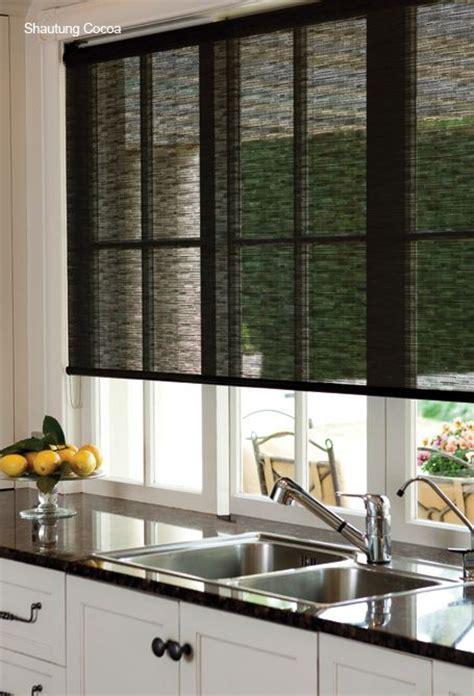 Kitchen Door Window Coverings by 17 Best Ideas About Kitchen Window Blinds On