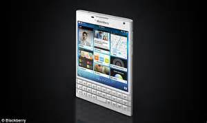 BlackBerry Passport Phone On Sale For 529 Daily Mail Online