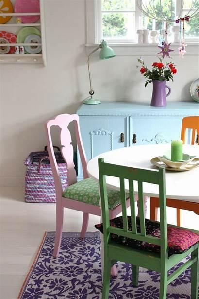 Decor Pastel Cottage Shades Colors Living Area