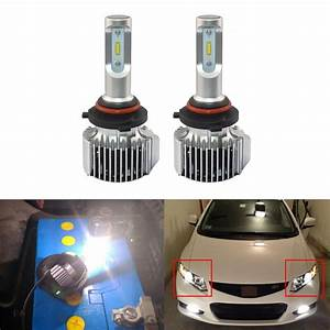 Led Headlight Replacement Bulbs For Honda Civic Coupe And