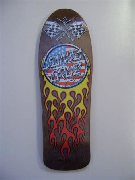 Jason Jessee Deck Ebay by Santa Jason Jessee V8 Skateboard Deck Brown Ebay