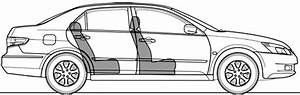 2003 Honda Accord Vii Ex Sedan Blueprints Free