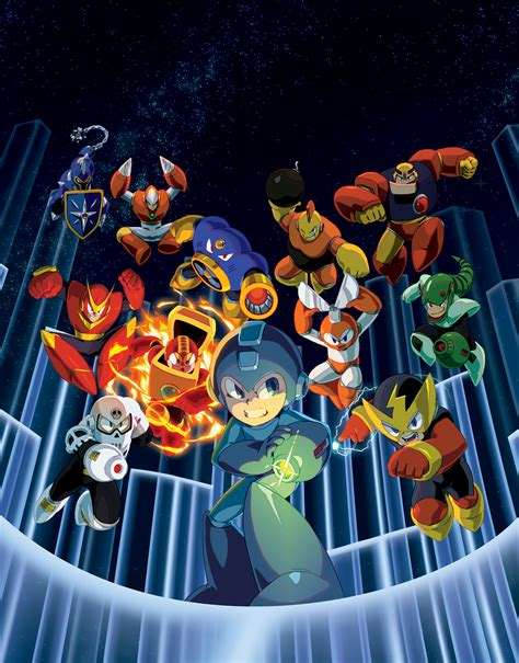 Mega Man Legacy Collection Coming To The PC, PS4 and Xbox ...