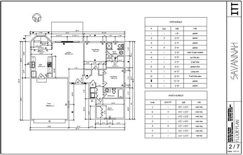 AutoCAD Floor Plans with Dimensions