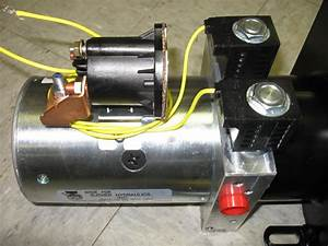 Monarch Dyna Jack Hydraulic Pump Motor Reservoir 12vdc M