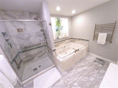 luxurious spa  master bath   harrisburg