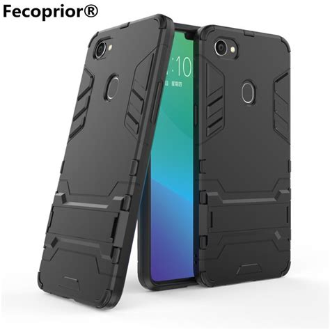 fecoprior oppof7 f 7 tpu pc for oppo f7 back cover