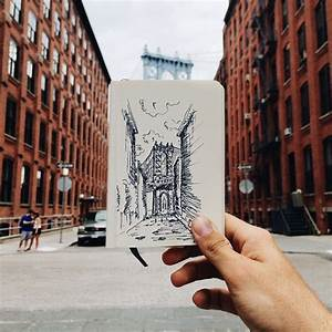Drawing Illustration Art Cool NYC City Draw Picture Pic