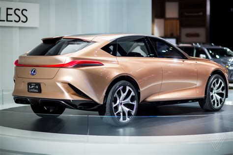 Lexus Car : The Lexus Lf-1 Limitless Concept Is A Futuristic Rose Gold