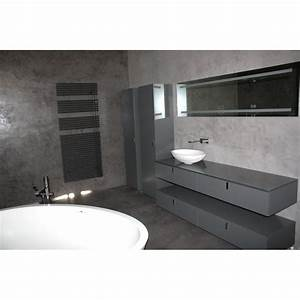 beton cire salle de bains carrelage harmony beton With beton cire sol salle de bain