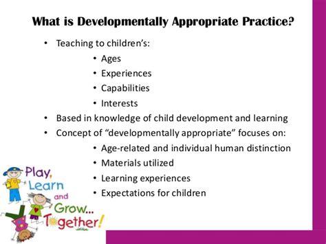 developmentally appropriate practice knowledge amp application 599 | developmentally appropriate practice knowledge application 2 638