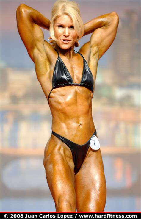 Tracy Beckham - prejudging - 2008 Arnold Classic and ...