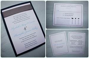 navy and light blue wedding invitations with navy backing With carolina blue wedding invitations