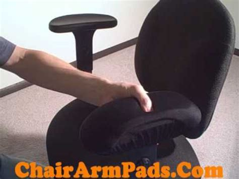 chair arm pad armrest covers with memory foam gel option
