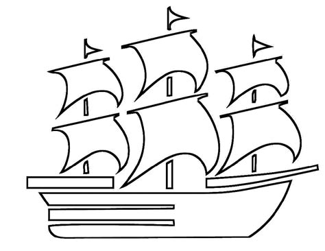 beautiful boat coloring pages  kids