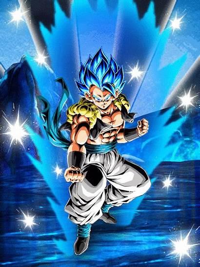 Gogeta Db Reborn Azure Saiyan God Super