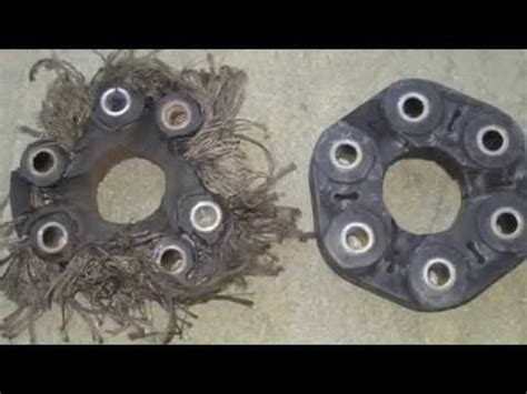 cadillac cts   propeller drive shaft flex disc     youtube