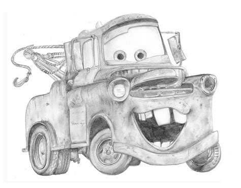 Pencil Drawings Of Old Cars