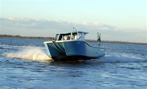 Hydrofoil Pontoon Boat by Swiftline Marine Bobkat Hull With Hydrofoil Hysucat