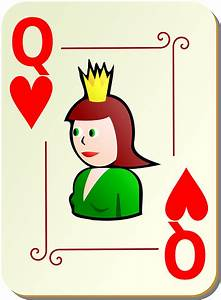 Playing card Q -Poker vector | Free PSD,Vector,Icons