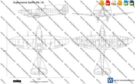 templates ww airplanes supermarine supermarine