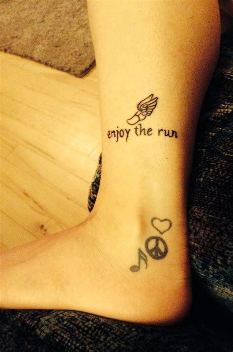 running tattoos ideas  pinterest run tattoo