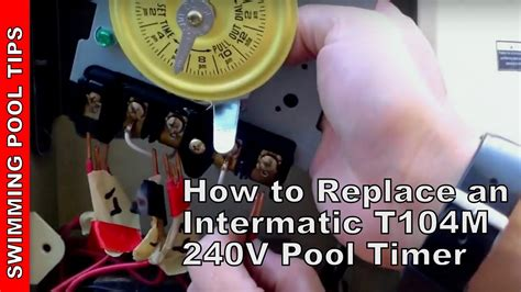 How Replace Intermatic Pool