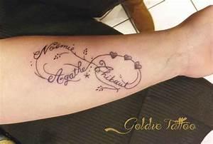 Tatouage Prénom Poignet : tatouage signe de l infini avec prenom cochese tattoo ~ Melissatoandfro.com Idées de Décoration