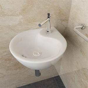 Design Gäste Wc : design keramik aufsatz h nge waschbecken ecke wandmontage badezimmer g ste wc 81 4251012700815 ~ Sanjose-hotels-ca.com Haus und Dekorationen