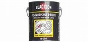 Efface Rayure Noir : produit r novateur carrosserie insonorisants blackson ~ Premium-room.com Idées de Décoration