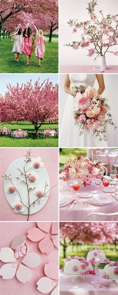 cherry blossom themed wedding Cherry blossom wedding