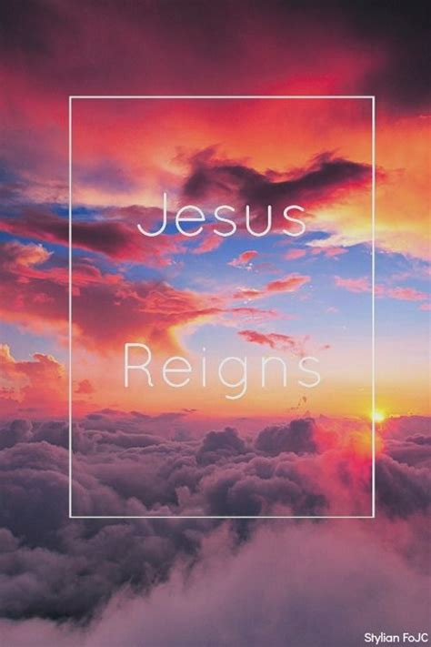 jesus reigns pictures   images  facebook